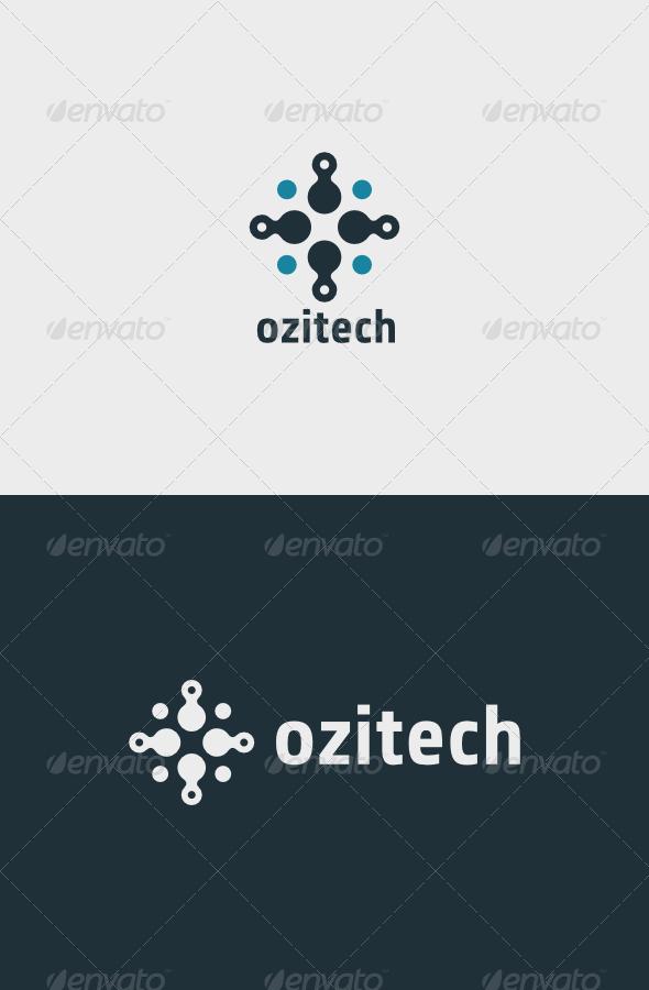 Ozitech Logo - Vector Abstract