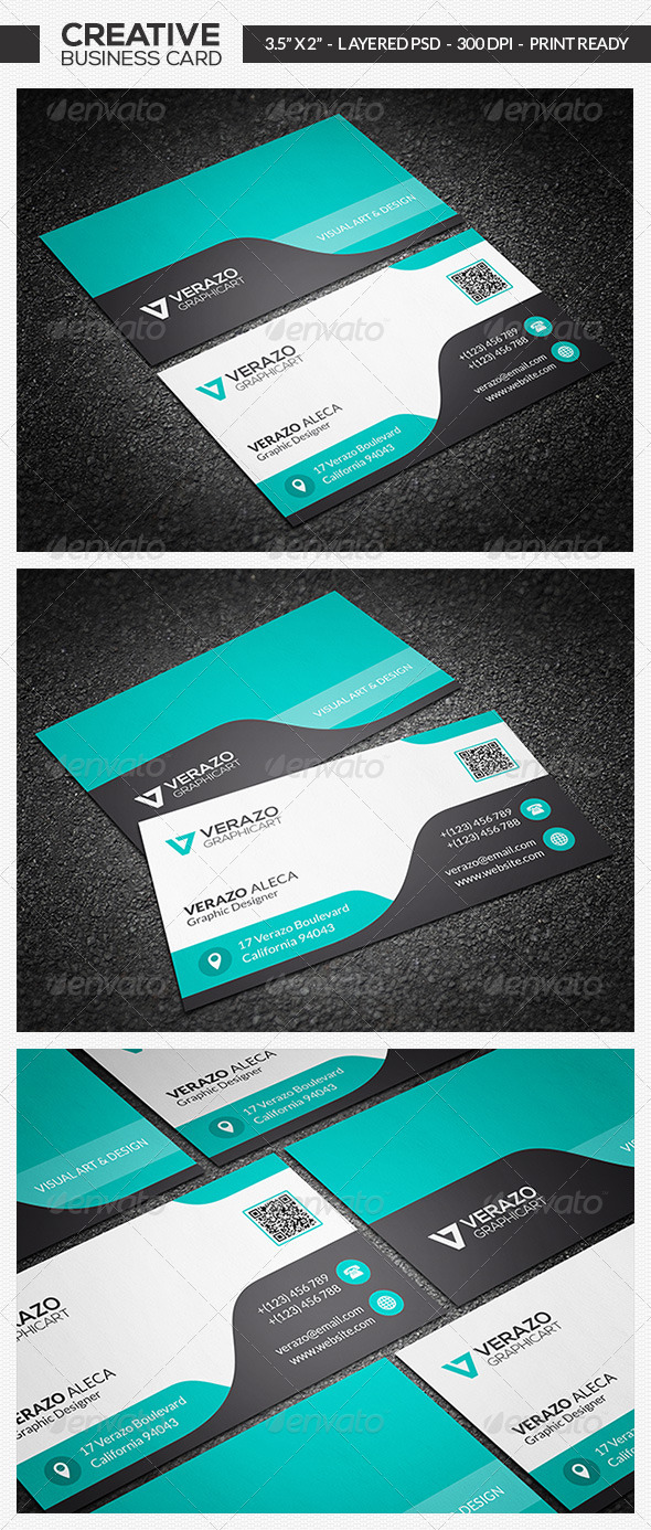 Corporate Business Card 02 - Creative Business Cards