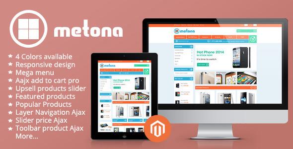 Metona - Responsive Magento Theme - Technology Magento