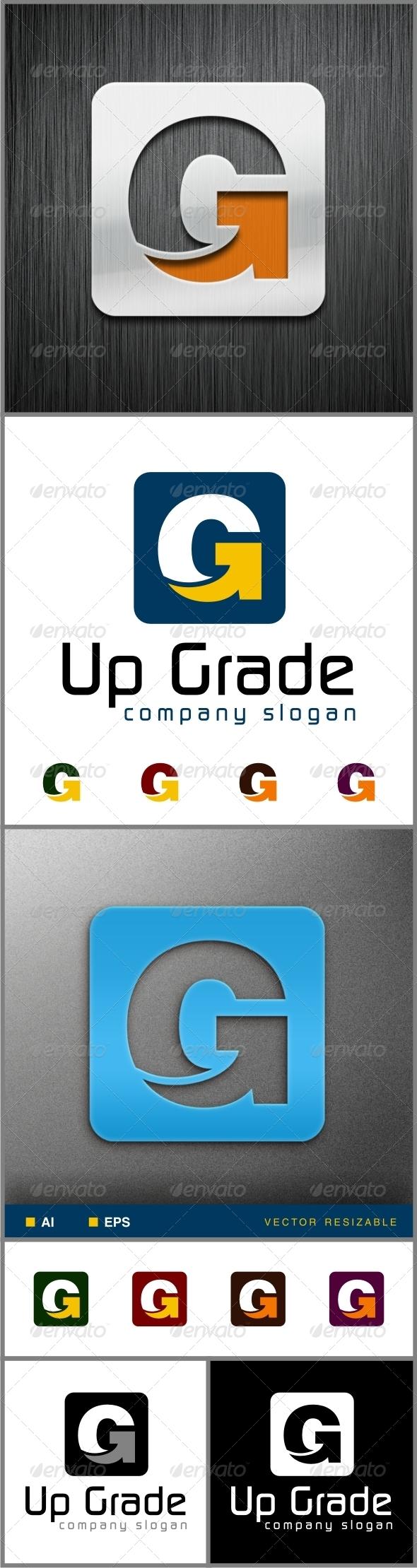 Arrow G Letter - Letters Logo Templates