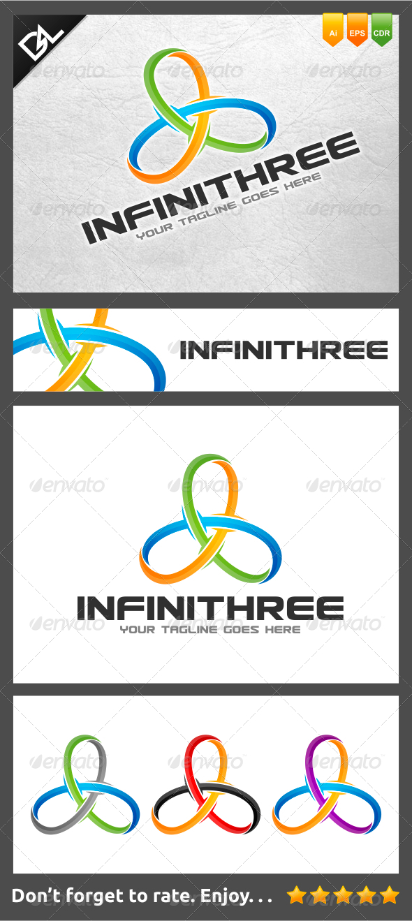 Infinithree - Symbols Logo Templates