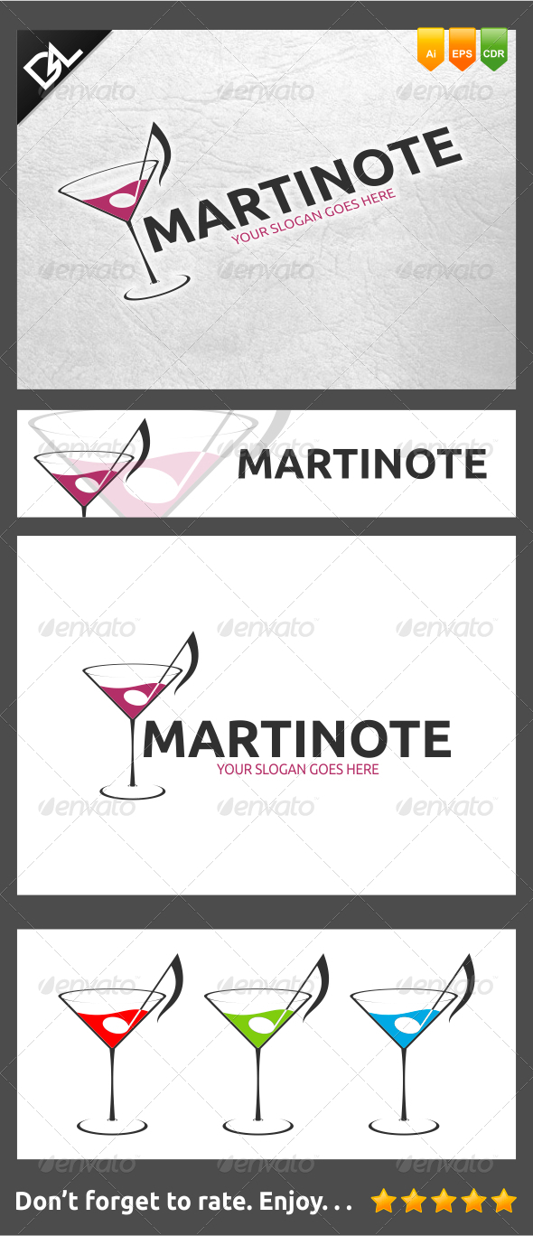 Martinote - Food Logo Templates