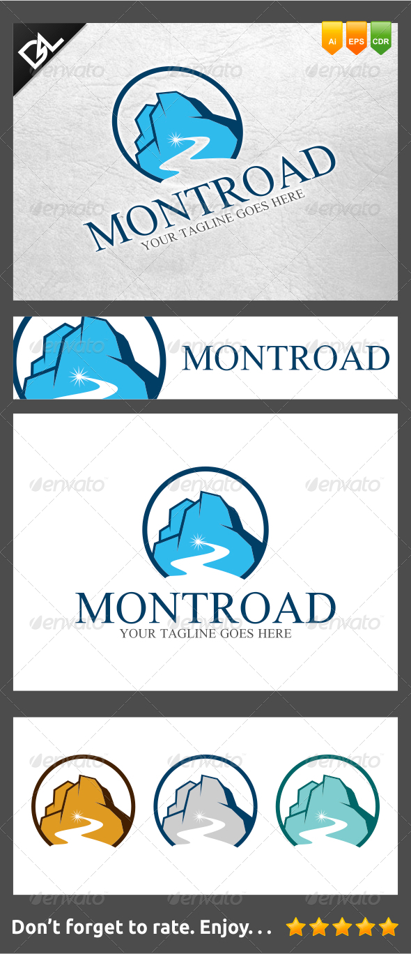 Mountroad - Objects Logo Templates