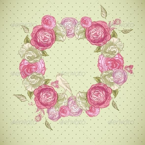 Floral Frame - Patterns Decorative