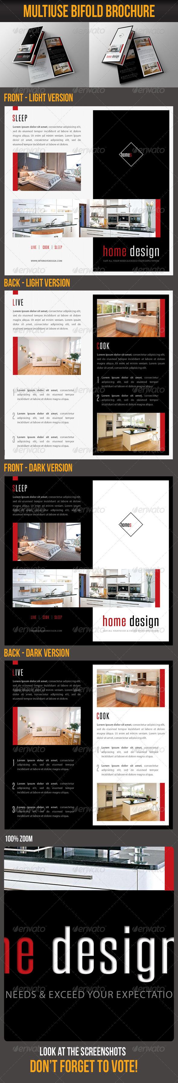 Multiuse Bifold Brochure 53 - Portfolio Brochures