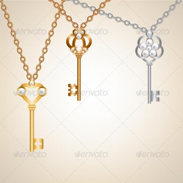 Skeleton Keys - Man-made Objects Objects