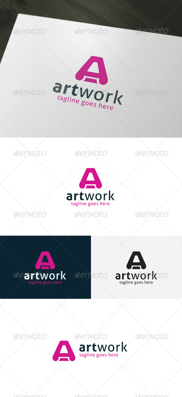 Art Work Logo - Letters Logo Templates