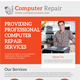 Computer Repair Service Flyer Template - GraphicRiver Item for Sale