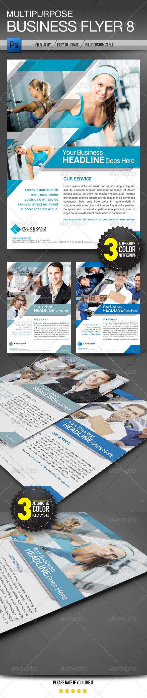 Multipurpose Business Flyer 8 - Corporate Flyers