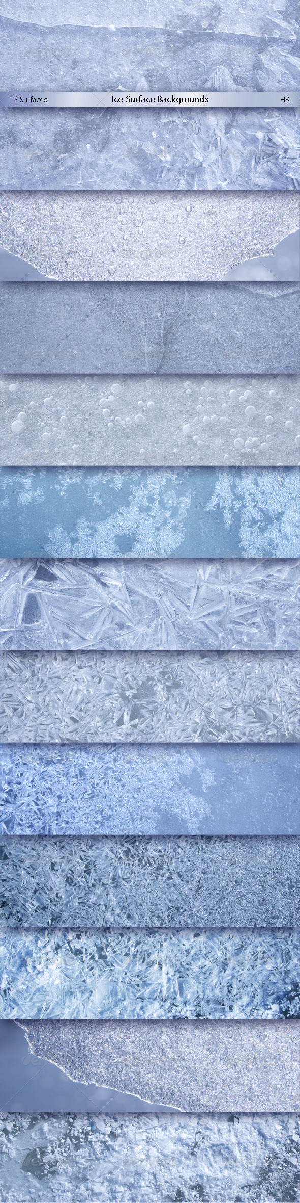 Ice Surface Backgrounds - Nature Backgrounds