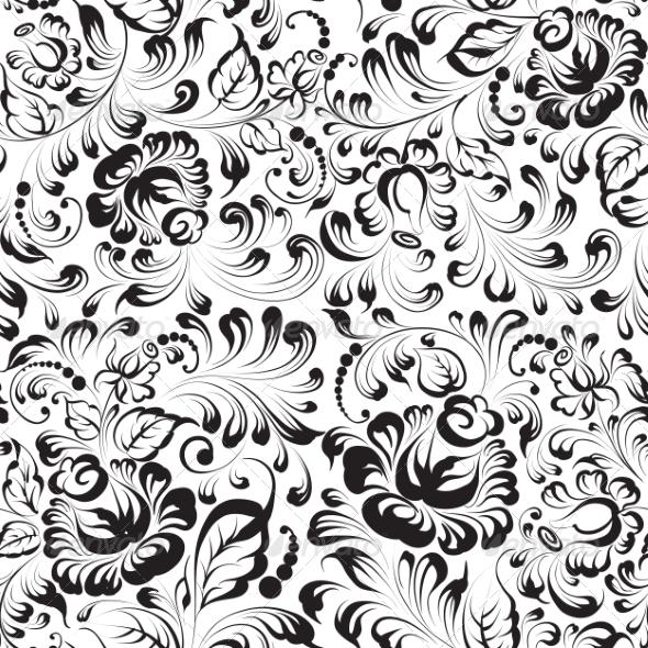 Floral Pattern - Valentines Seasons/Holidays