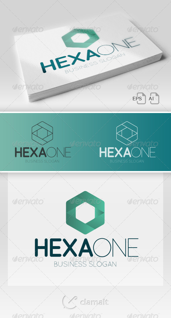 HexaOne Logo - Symbols Logo Templates