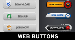 Web Buttons -Icons