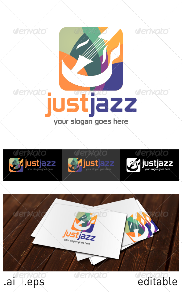 Just Jazz Logo Template - Objects Logo Templates