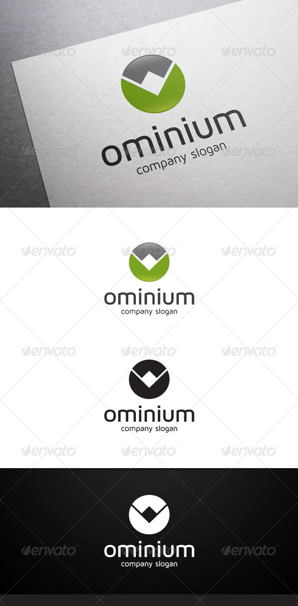 Ominium Logo - Abstract Logo Templates