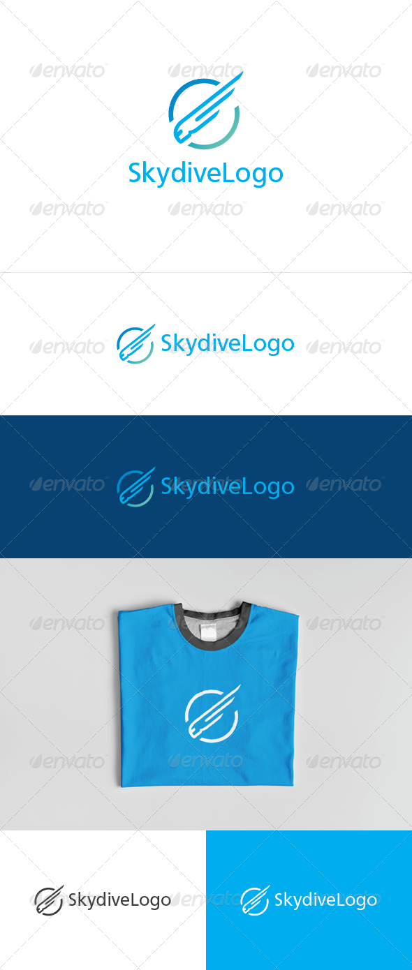Skydive Logo - Abstract Logo Templates