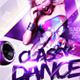 Classy Dance Flyer Template - GraphicRiver Item for Sale