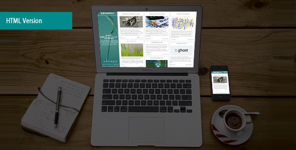 Dragonfly – Elegant Blog & Portfolio Html Template