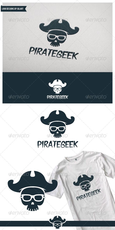 Pirate Geek - Humans Logo Templates
