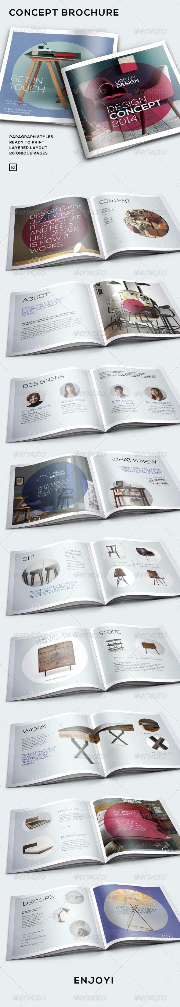 Concept Brochure - Portfolio Brochures