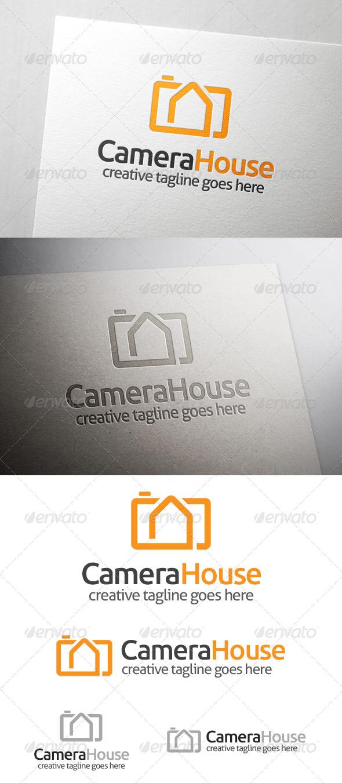 Camera House Logo - Buildings Logo Templates