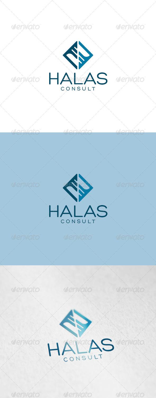 Halas Logo - Abstract Logo Templates
