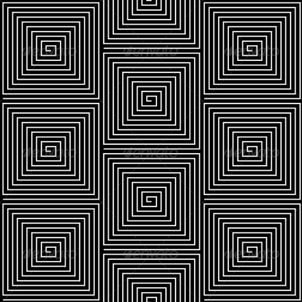 Hypnotic Background Seamless Pattern - Web Technology