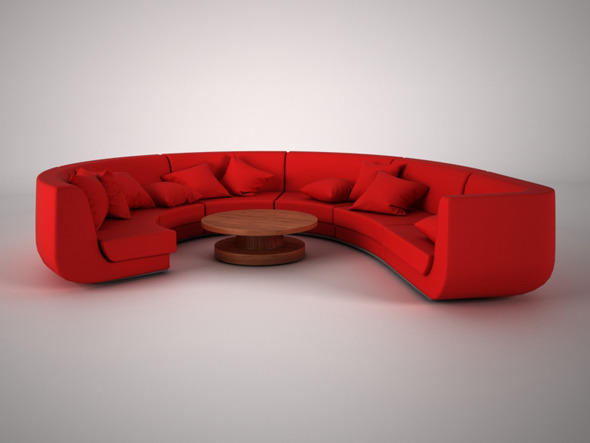 Modern Sofa - 3DOcean Item for Sale
