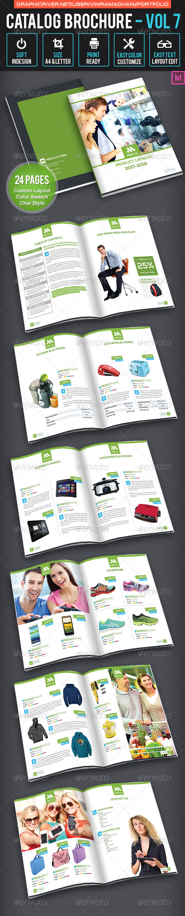 Product Catalogs Brochure | Volume 7 - Catalogs Brochures