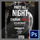Party All Night Flyer - GraphicRiver Item for Sale