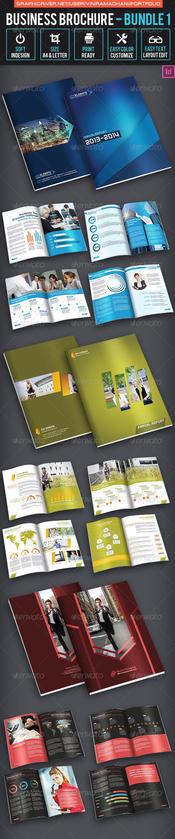Business Brochure Bundle 1 - Corporate Brochures