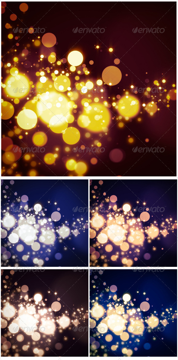 Abstract Bokeh Background  - Abstract Backgrounds