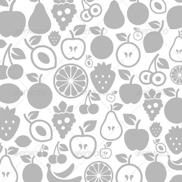 Fruit Background - Food Objects