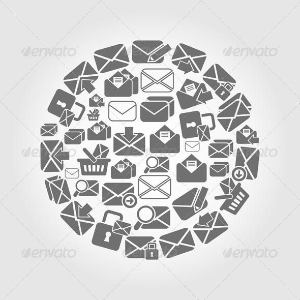 Letter Circle - Miscellaneous Vectors
