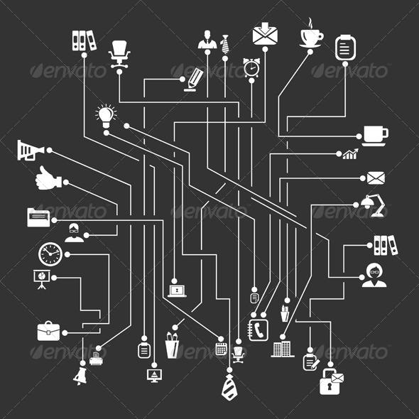 Office Scheme - Miscellaneous Vectors