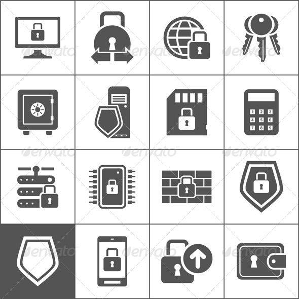 Protection Icons - Miscellaneous Vectors
