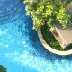 Pool In The Garden - VideoHive Item for Sale