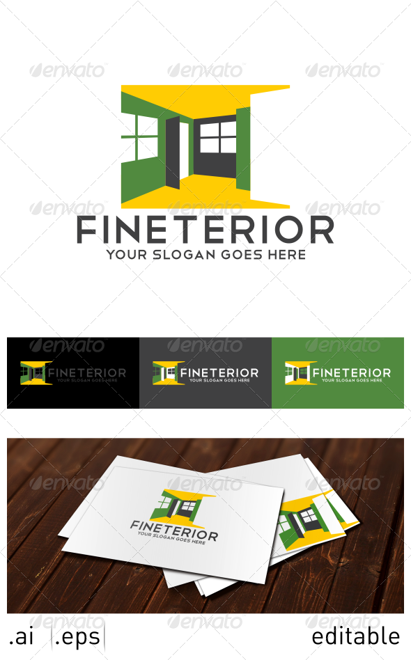 Fineterior Logo Template - Buildings Logo Templates