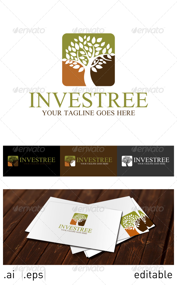 Investree Logo Template - Nature Logo Templates