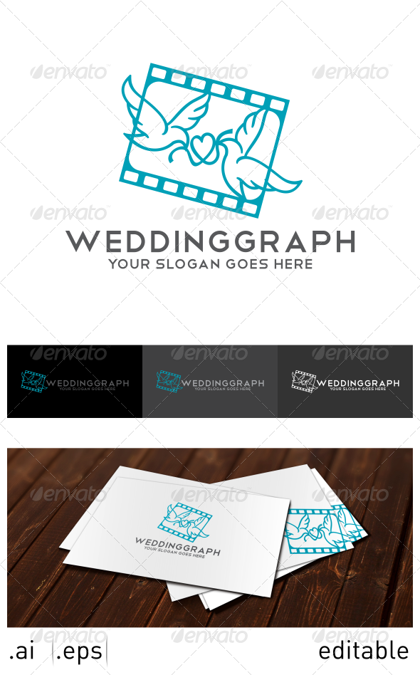 Weddinggraph Logo Template - Animals Logo Templates