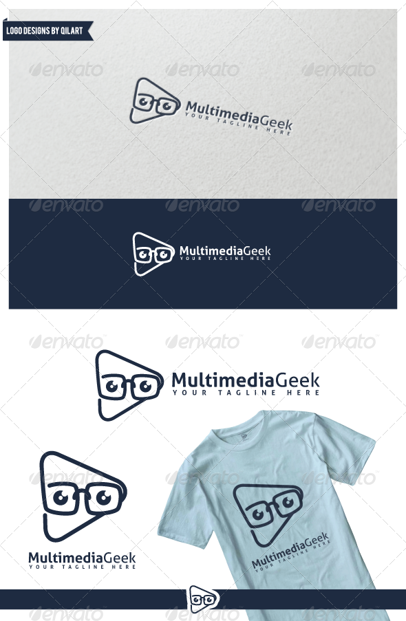 Multimedia Geek - Abstract Logo Templates