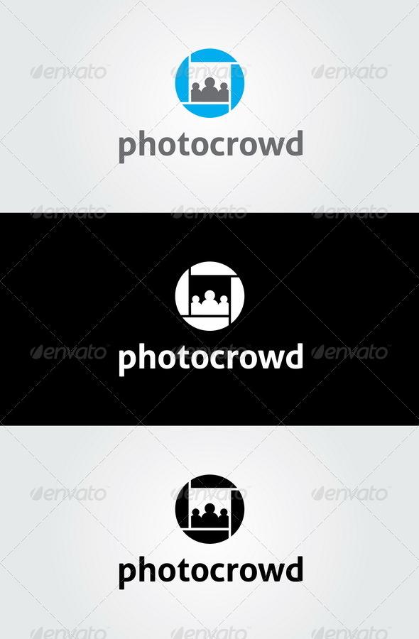 Photo Crowd Logo - Objects Logo Templates