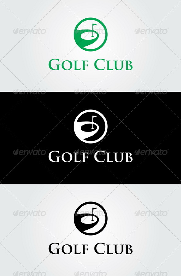 Golf Club Logo Template - Symbols Logo Templates