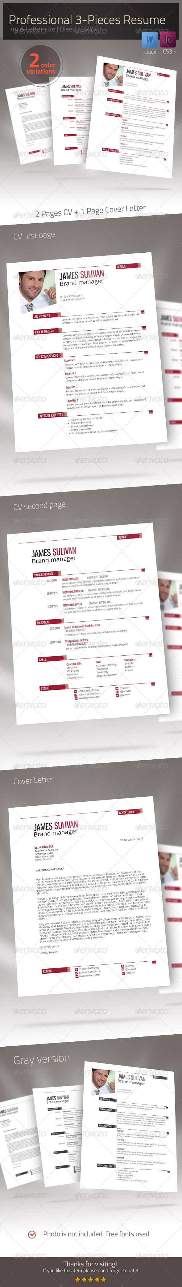 Resume Xtend CV Set - Resumes Stationery
