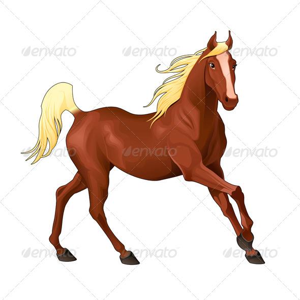 Elegant Horse - Animals Characters
