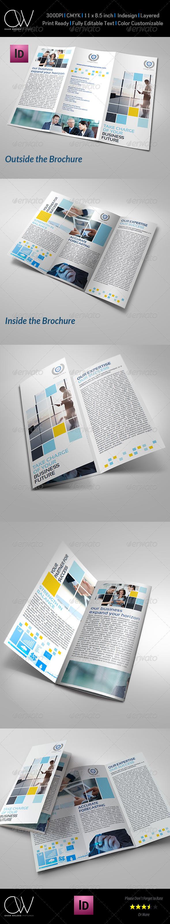 Corporate Business Tri-Fold Brochure Vol.6 - Corporate Brochures