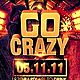 Go Crazy Flyer Template - GraphicRiver Item for Sale