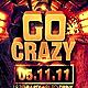 Go Crazy Flyer Template - GraphicRiver Item for Sale