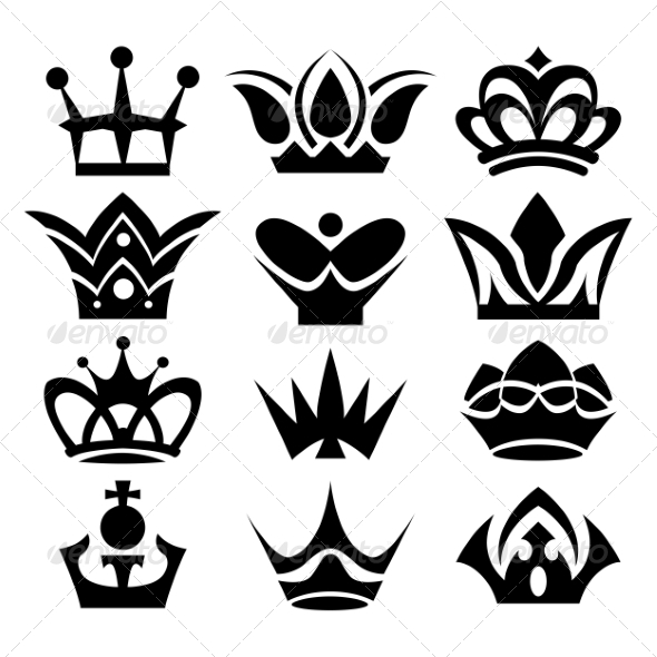 Crown Collection - Decorative Symbols Decorative