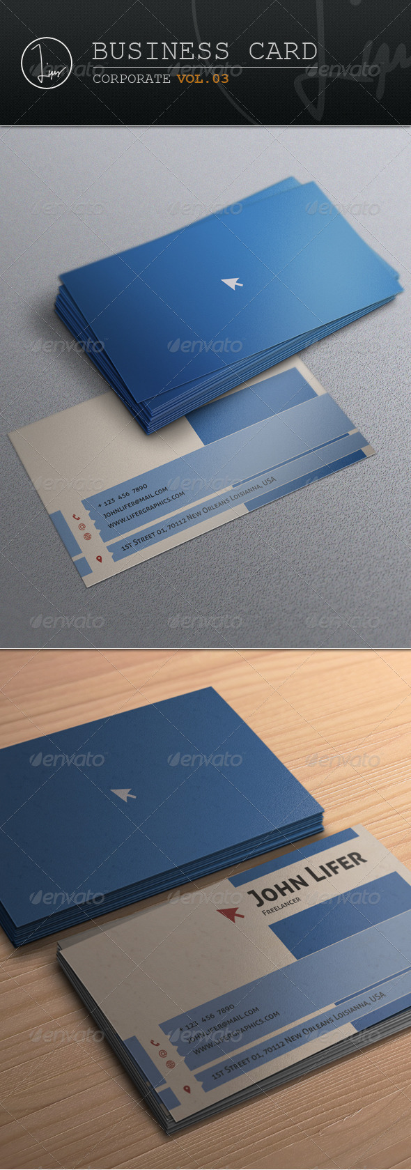 Business Card / Corporate Vol.03 - Corporate Business Cards